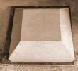 Flat pier cap 300mm x 300mm x 150mm